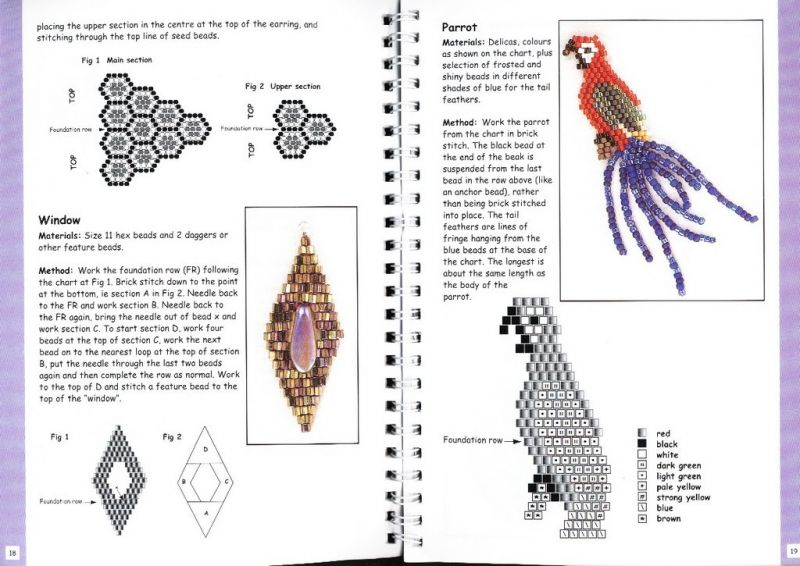 Схемы бисероплетения брелков - Делаем фенечки своими руками.